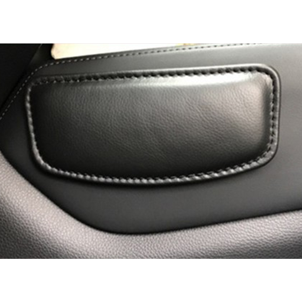 Cushion Thigh Support Knee Pad Interior Universal Accessories Soft Car Seat Pillow Leather 18X8.2cm