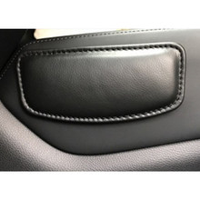 Cushion Thigh Support Knee Pad Interior Universal Accessories Soft Car Seat Pillow Leather 18X8.2cm(China)