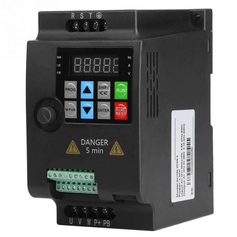 SK680-2D2-4 2.2kW 380 V Monophasé à 3 Phase variateur de fréquence moteur inverseur Vitesse Contrôle