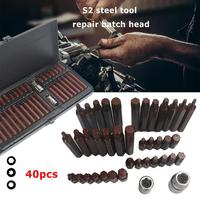 40pcs/set Hex Star Spline Socket Screwdriver Bit Set Drive Torx Sockets Bits Car Van Repair Tools Screwdriver Kit Repairing Tool