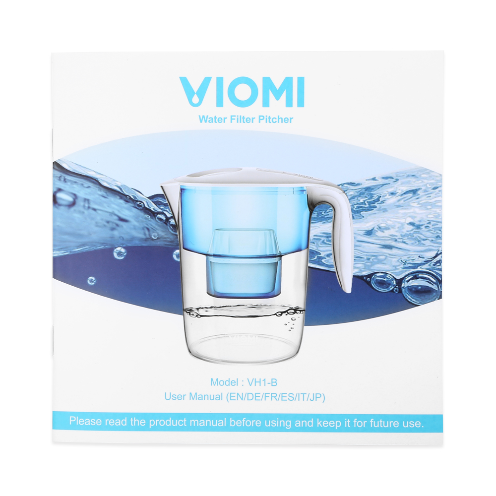 VIOMI 3.5L New Water Filter Pitcher Filtration Dispenser Cup 7 Multipurpose Xiaomi Water Purifier For Household Water Bottle