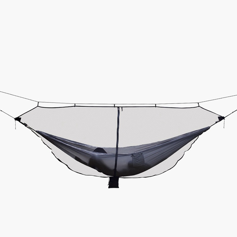 Ultralight Portable Hammock Mosquito Net For Outdoor Nylon Material Anti-Mosquito Nets With Super Size(China)