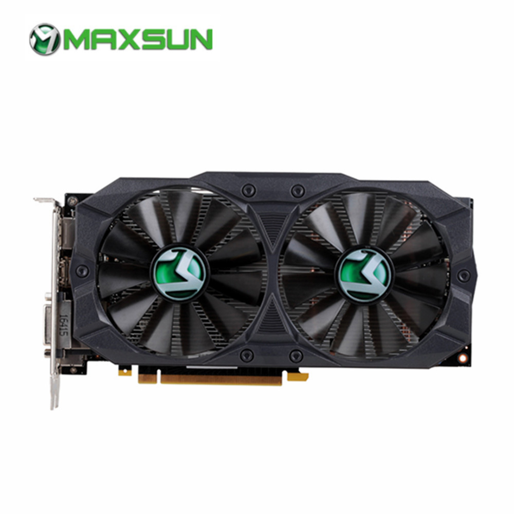 US $217 99 |MAXSUN GTX 1060 Big Mac 3G M 4 Graphics Card 8000MHz Gaming  Graphic Card Gddr5 192bits DP+HDMI+DVI*2 Video Card-in Graphics Cards from