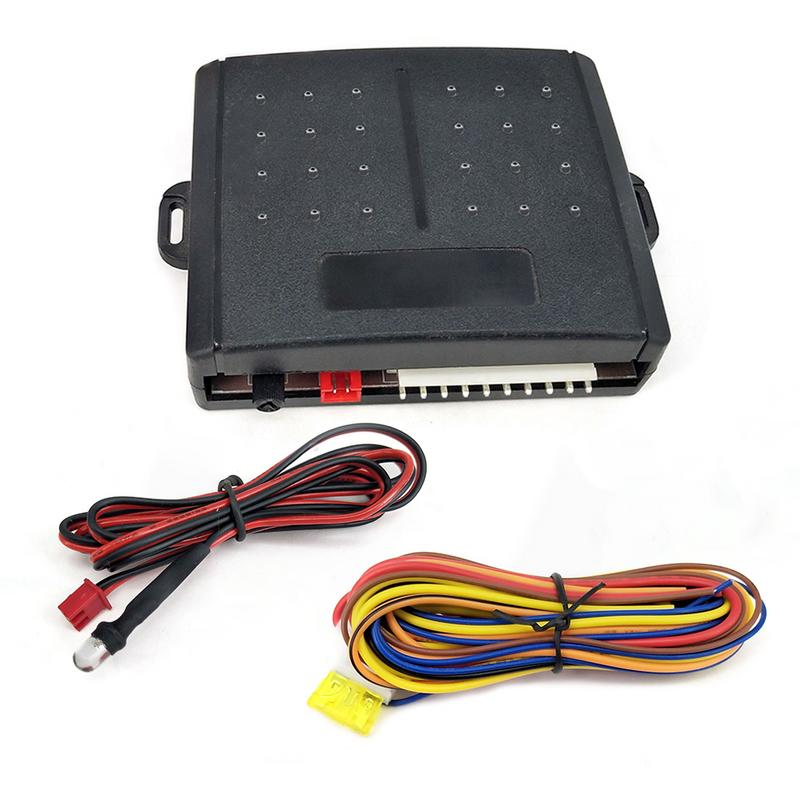 Professional Car Coming Home Sensor Auto Light Time-lapse Controller Easy To Use It Along With Car Alarm System