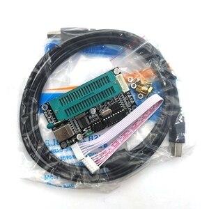 Image 2 - 1 conjunto pic microcontrolador usb programação automática programador k150 + icsp cabo