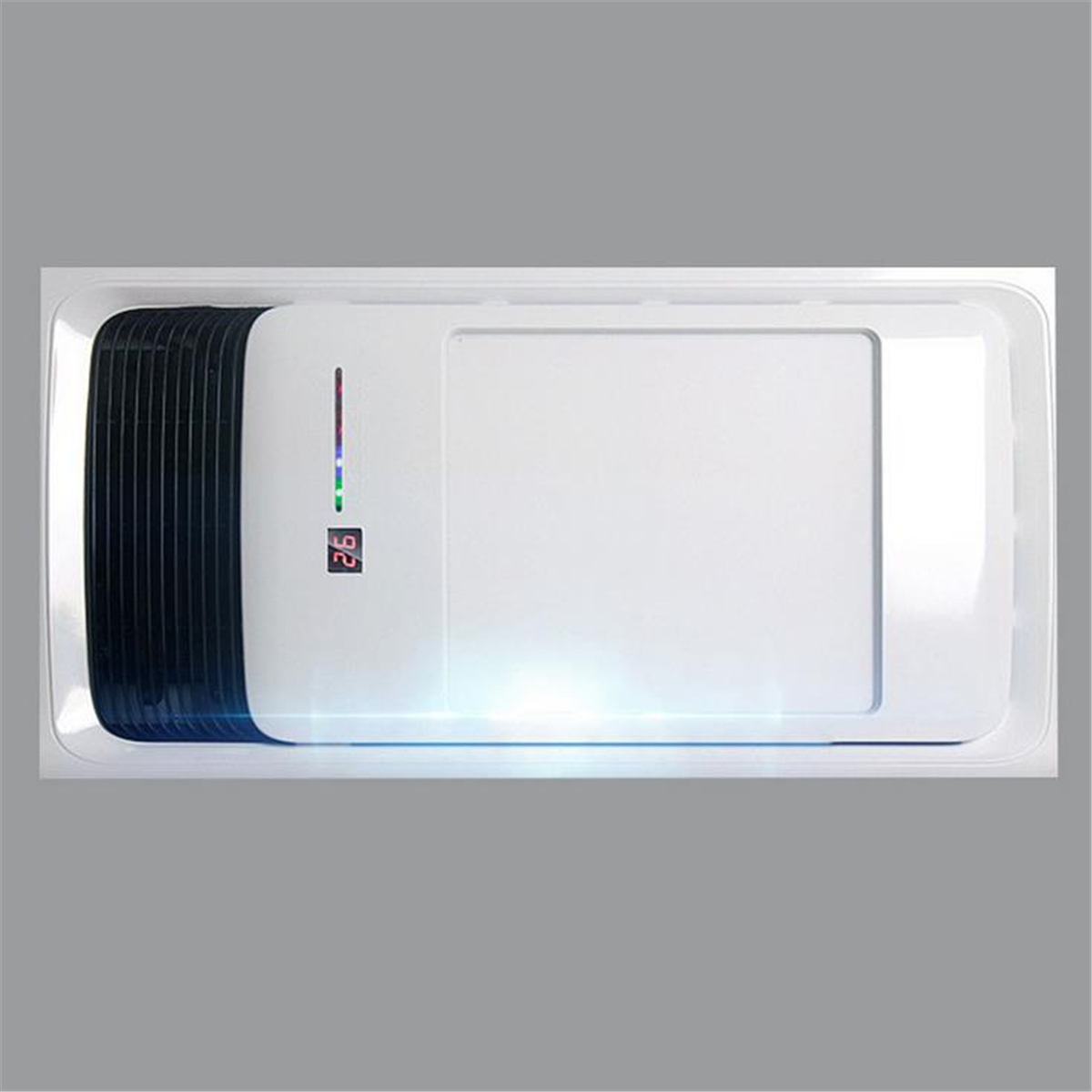 Wall mounted bathroom electric heater exhaust fan warmer - Electric wall mounted heaters for bathrooms ...