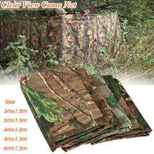 5 Size Lightweight Multifunction Camo Net Hide Netting Birds Decoy Hunting Shooting Kit Military Camouflage Netting Mesh