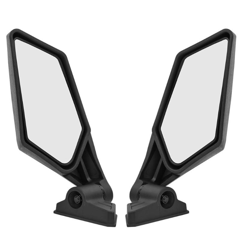 VODOOL 2Pcs Motorcycle Replacement Rear View Mirror Racing UTV Side Mirrors For Can Am Maverick X3 4x4 Reversing Rearview Mirror