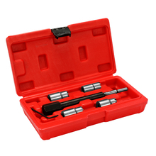 6pcs Portable Fine Quality Auto Car Diesels Injector Seat Cutter Cleaner Repairing Removal Tool Kit
