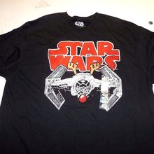 b404a1dcbe77 Star Wars Tie Fighter Rudolf Reindeer Christmas T Shirt Size Large  New(China)