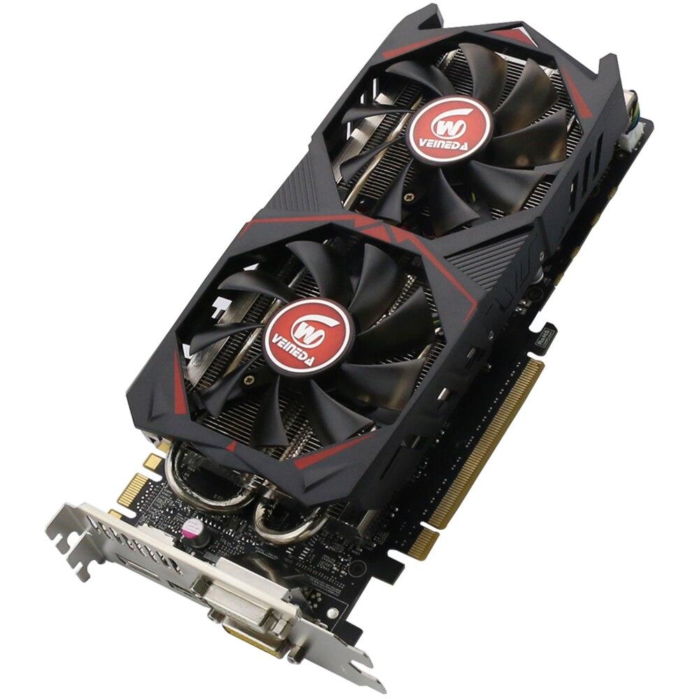 все цены на Video Card Veineda Graphic card GTX 760 4G GDDR5 256Bit DVI HDMI InstantKill GTX 1050 ,GTX950 for nVIDIA Geforce gaming
