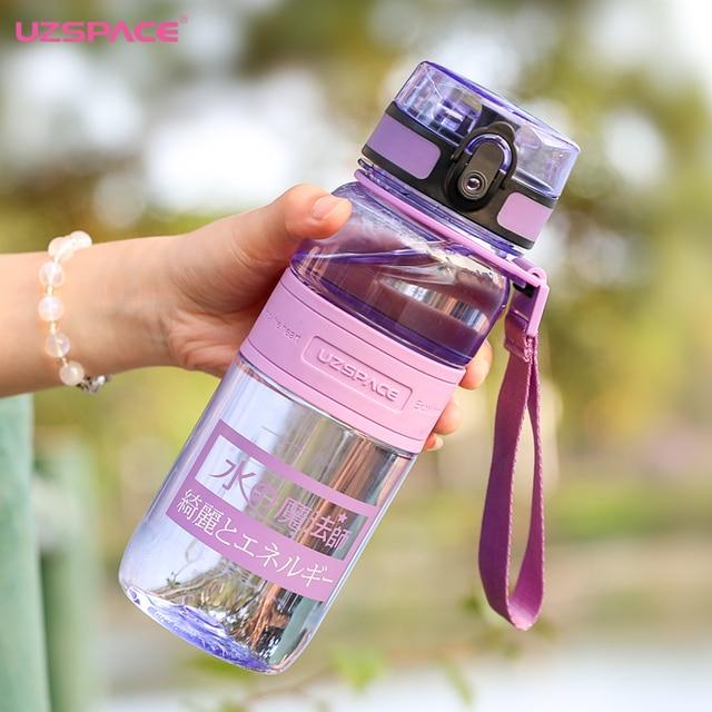 Sport Water Bottles Portable Plastic Shaker My Drink Bottle 650ml Outdoor  for Water Tritan Drinkware with Tea Infuser 50UU067