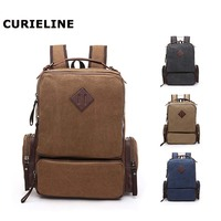 fashion backpack computer bags canvas cabin luggage backpack outdoor large capacity laptop backpack