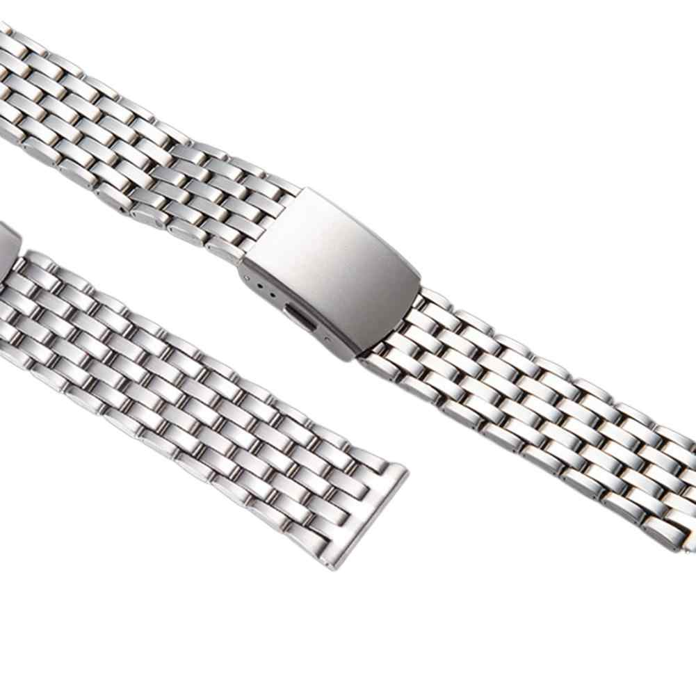 Фото LinTimes для мужчин ремешок часов 20 см нержавеющая сталь металлический браслет