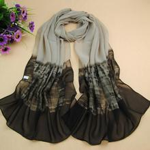 4588bca0b4d Femmes De Mode Respirant En Mousseline de Soie Georgette Longue Écharpe  Vêtements Accessoire Châle Écharpes