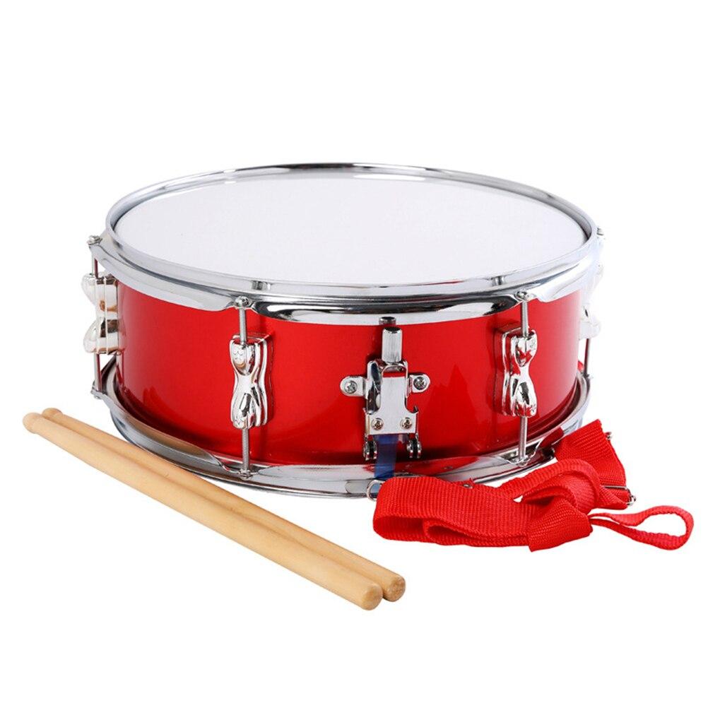 1 Pc classique 13 pouces baguettes de tambour en bois baguettes de tambour en bois étudiant baguettes de tambour caisse claire bâton pièces musicales