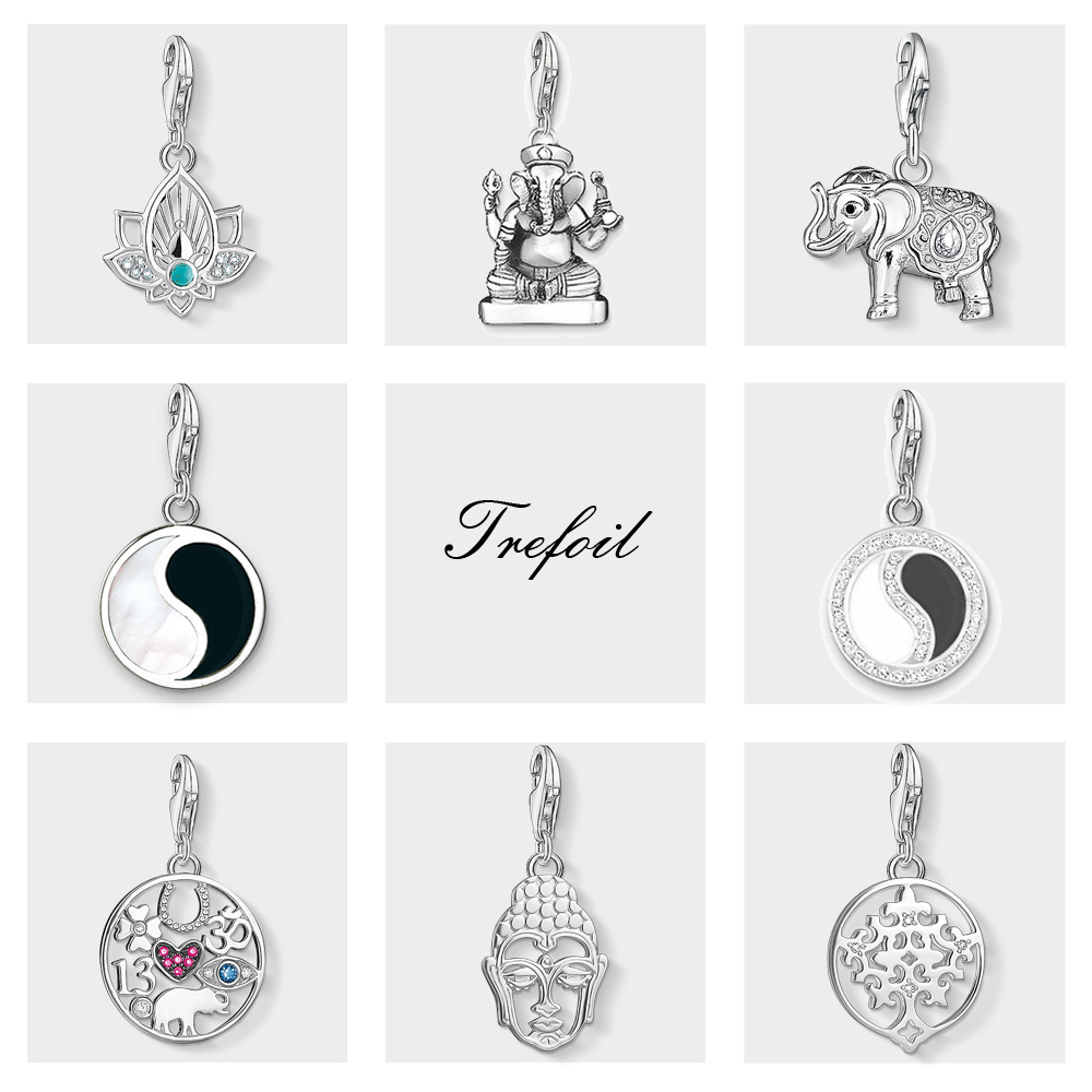 925 cute Silver Fashion Charms Anchor pendant Necklace Jewelry women lady gift
