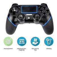 PS4 Bluetooth Wireless Game Controller Gamepad ABS For Sony PS4 Game Console / Android / Computer Gaming Handle