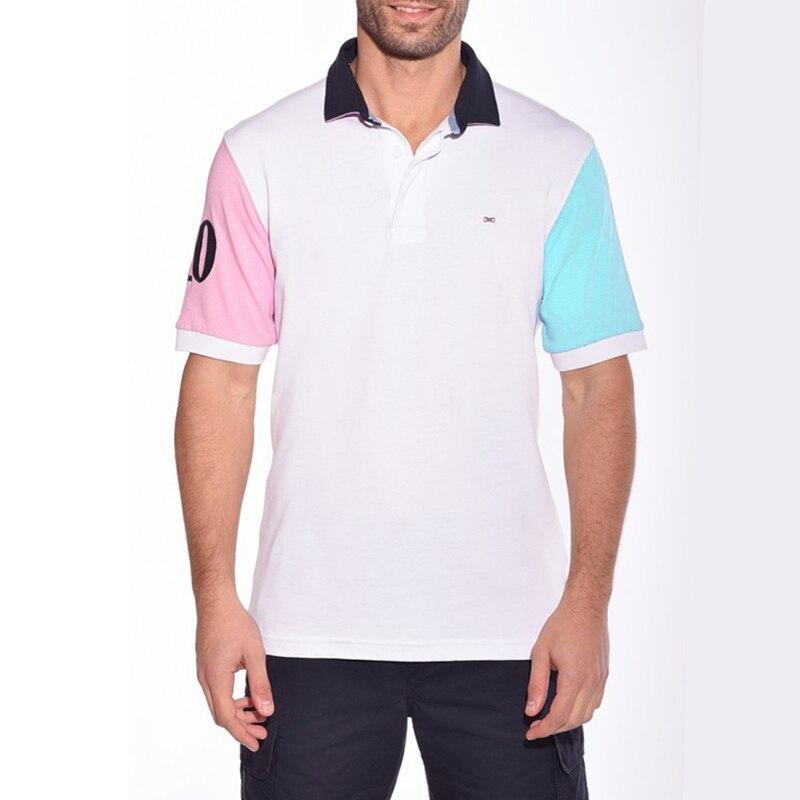 e9f6a61e7 Homens do Polo Eden Park Marca Verão Curto Roupas Polos Famosa Camisa  Masculina Casual Sportswear Respirável