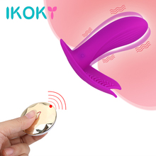 IKOKY 7 Frequency Vibrator Strap On Dildo Sex Toys for Women Female Masturbator G-spot Massage Clitoris Stimulator Adult Product
