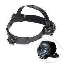 Сменный Регулируемый сварочный головной убор для сварочных шлемов повязка на голову с маской Авто Темный шлем аксессуар