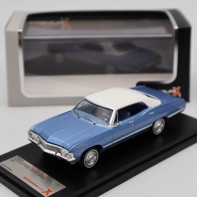 Oyuncaklar ve Hobi Ürünleri'ten Pres Döküm ve Oyuncak Araçlar'de Premium X 1:43 Chevrolet Impala Spor Sedan 1967 Metalik Mavi PRD559 Döküm Modelleri Araba Sınırlı Sayıda Koleksiyonu'da  Grup 2