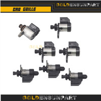 RE5R05A A5SR1/2 shift Solenoids Kit 7PC case For G35 fx 35 original used 31941 90X00 31941 90X01