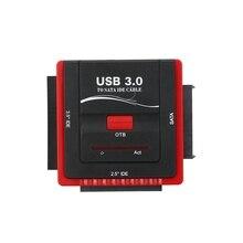 Usb 3,0 для Sata/Ide адаптер конвертер жесткого диска адаптер для универсального 2,5/3,5 Hdd/Ssd жесткий диск с блоком питания(Uk Pl
