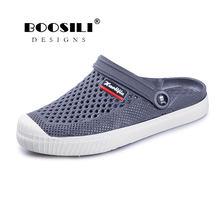 c17a52c4a Sapato feminino/2019 г. брендовые сабо для влюбленных, 6 цветов, мужские  сандалии