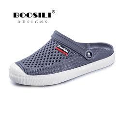 Sapato Feminino 2019 Marca Amante Das Vendas Isentas de imposto 6 Cores Croc Tamancos Sapatos Sandálias Da Praia do Verão Dos Homens Da Banda de Água Natação Mens Sapato