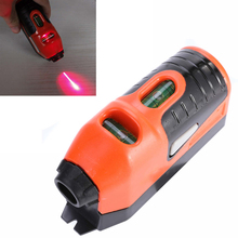 1pc Portable Laser Edge Level Straight Line Guide Leveler Horizontal Device Hang Picture