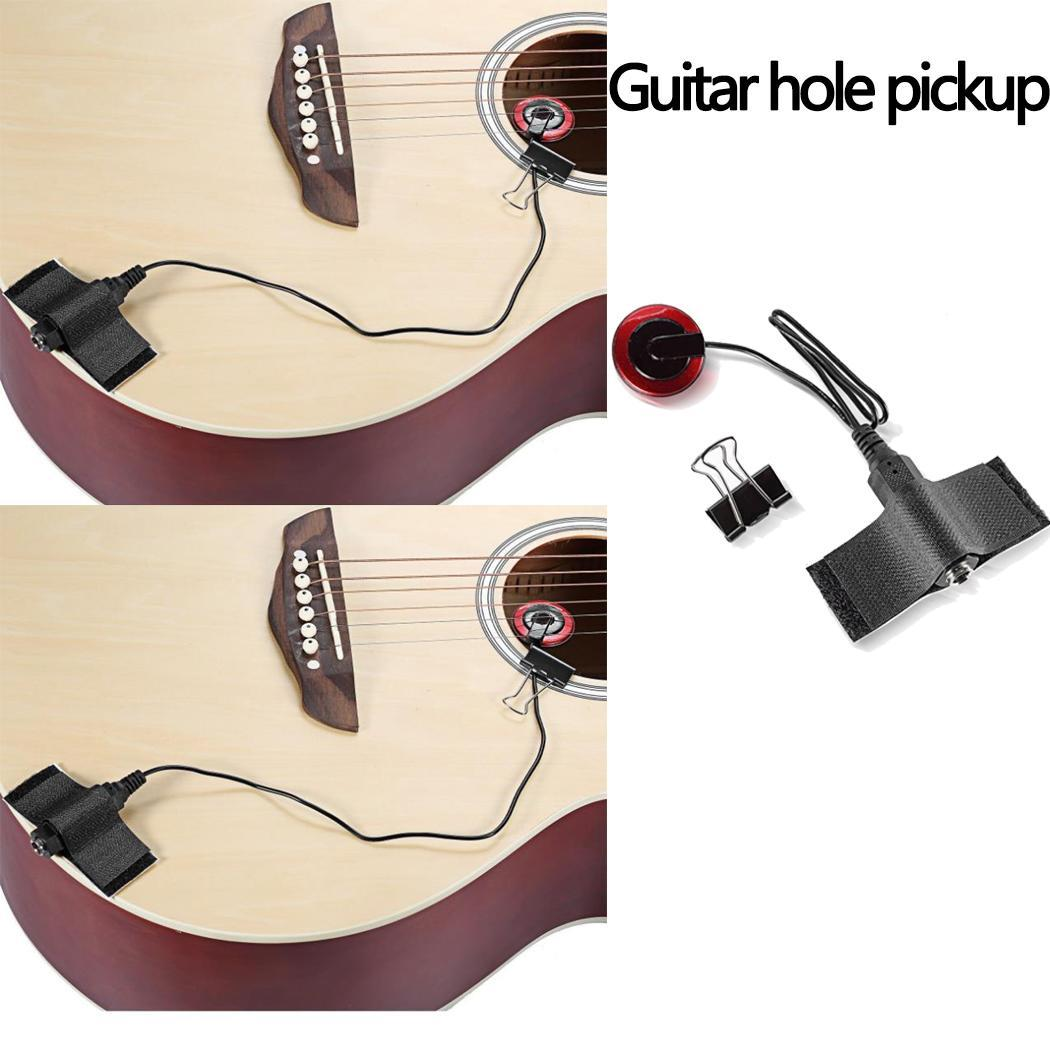 Self-adhesive Electronic Acoustic Guitar Pickup Musical Instrument Accessories Home, Show, Performances, etc