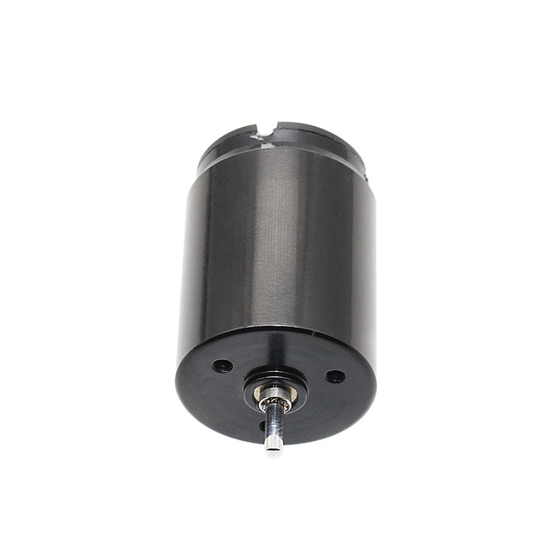 1Pc Black CHH 2230CU DC6V / 12V Hollow Cup Permanent Magnet Motor Carbon Brush Motor for Electrical Equipment High Speed