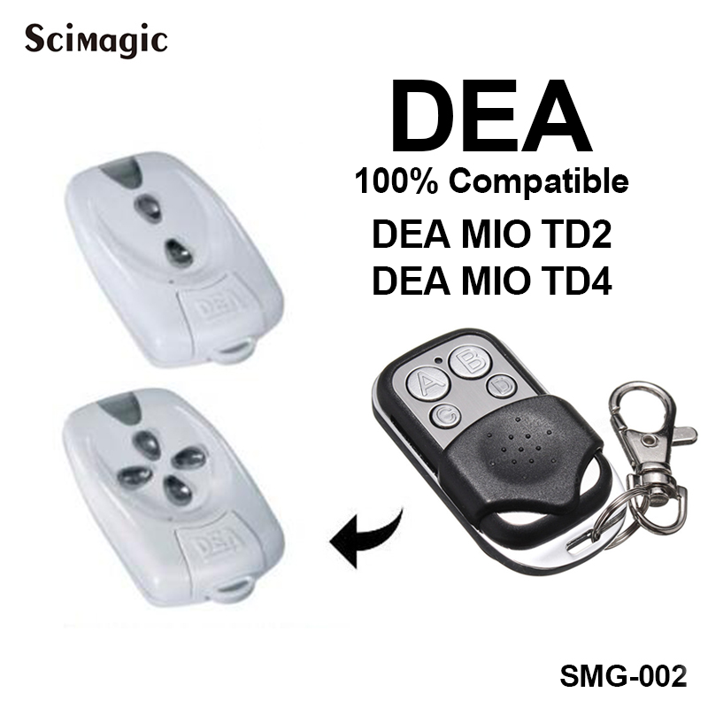DEA MIO TD 2/4 Remote Control 4 button Fixed code remote Clone/DuplicatorDEA MIO TD 2/4 Remote Control 4 button Fixed code remote Clone/Duplicator