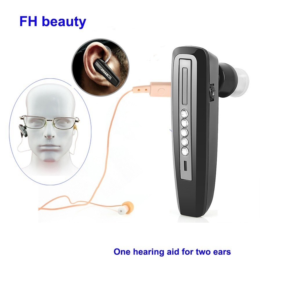 Invisible Mini Hearing Aid Rechargeable For Elderly Binaural Sound Amplifier Hearing Aids Digital Deaf Ear Care Tool Devices
