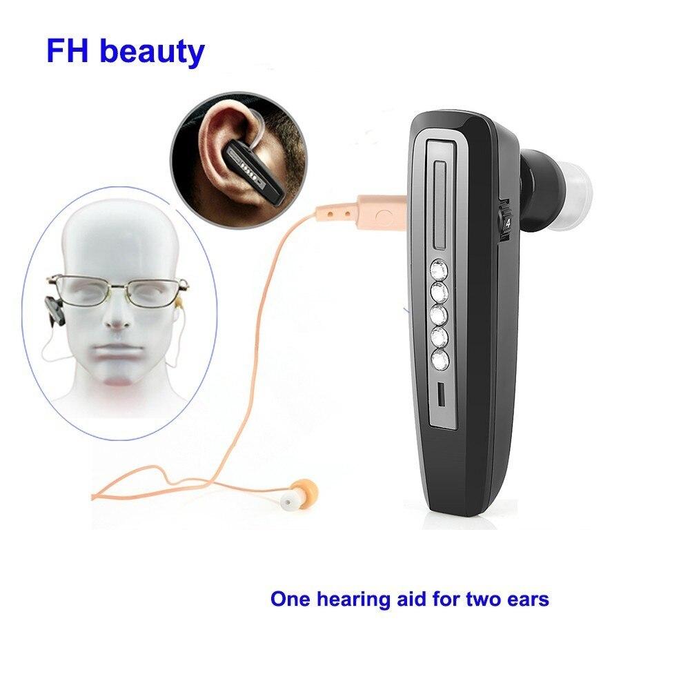 Mini prothèse auditive Invisible Rechargeable pour les personnes âgées amplificateur sonore Binaural aides auditives dispositifs d'outils de soins auditifs sourds numériques