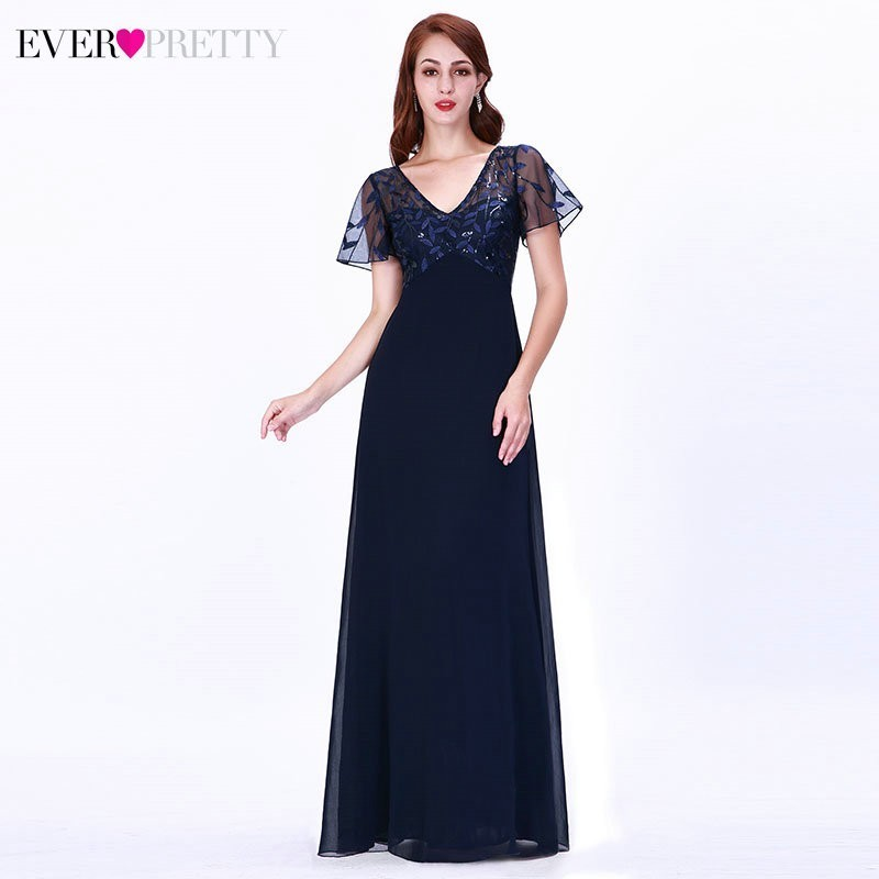 Elegant Lace Bridesmaid Dresses Ever Pretty A-Line V-Neck See Through Women Formal Wedding Guests Gowns 2019 Vestido Madrinha