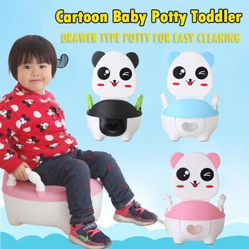 Bebé Orinal Inodoro Formación Panda De Dibujos Animados Bebé Baño