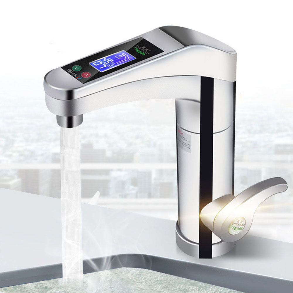 500-3500W Large Touch-screen Electric Water Heater Rotatable Water Faucet Instant Faucet  Hot And Cold For Bathroom Kitchen