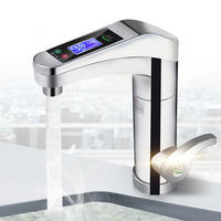 500 3500W Large Touch screen Electric Water Heater Rotatable Water Faucet Instant Faucet Hot And Cold For Bathroom Kitchen