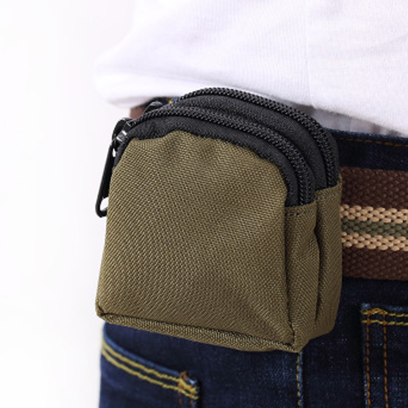 Camping Tactical First Aid Kit Bag Mini Waist Bag Military Equipment Molle Pouch Practical Key Coin Case Survival Bag Safety