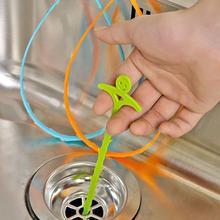 U-образная кухонная труба дноуглубительный крюк анти-блокирующий крюк мойка очиститель Слива канализационная затычка в ванную комнату туалет для удаления волос