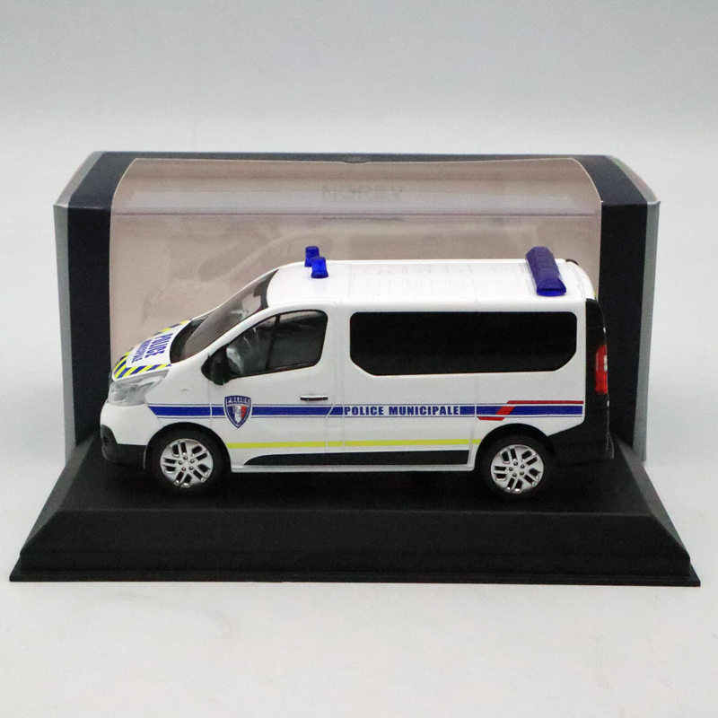 NOREV 1/43 RENAULT Trafic of 2014 Police Municipale Diecast Models  Collection Car