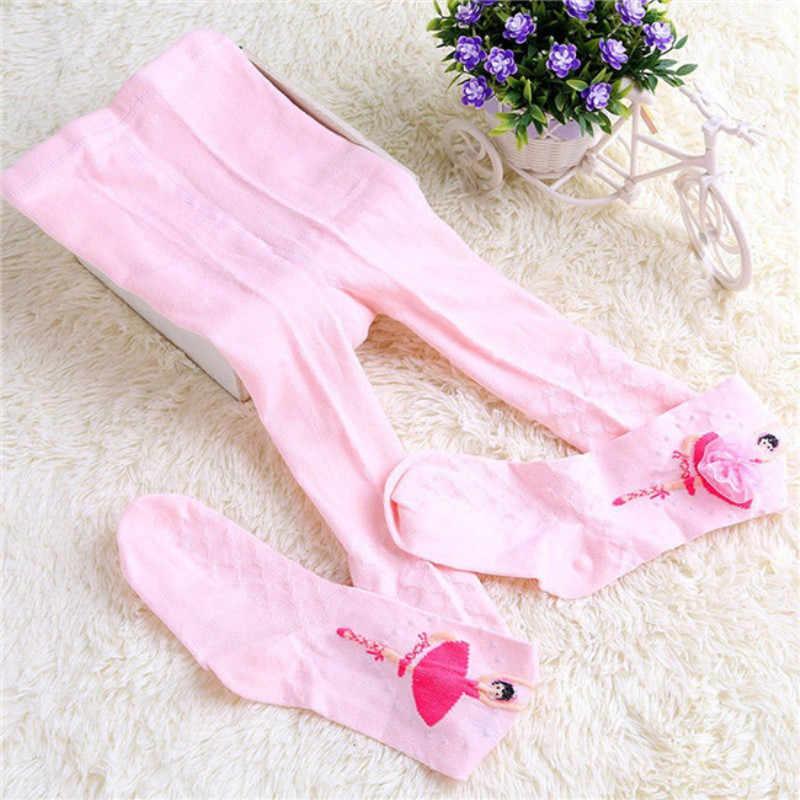 Nieuwe Herfst Winter Meisjes Leggings Baby Kids Prinses Dans Meisjes Paattern Panty Kousen Broek Zwart Warme Baby Leggings