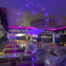 Wave balloon LED luminous colorful flashing Festival with lights night christmas decorations for home