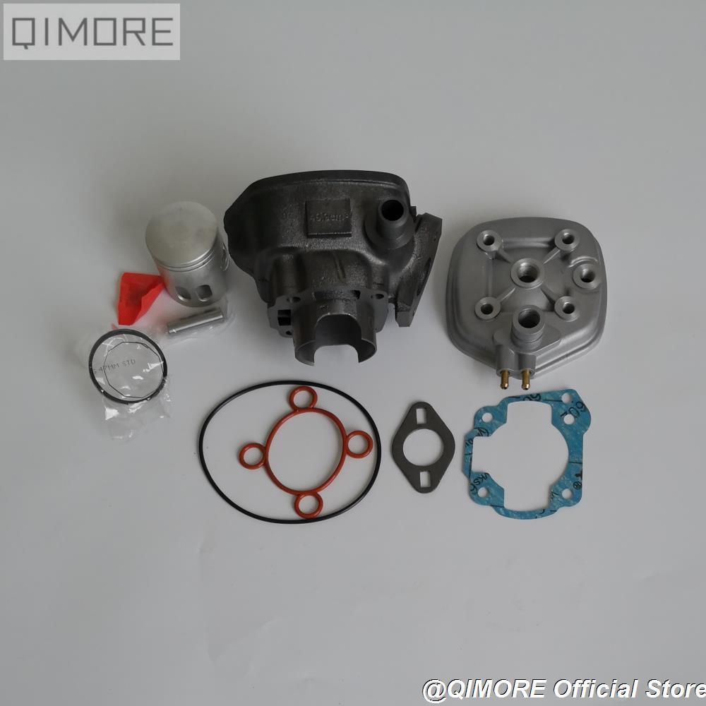 47mm Cylinder Piston Ring Set for water cooling Minarelli JOG50 ZR50 ZUMA 50 Italjet 50 Sonic 50 / MBK NITEO Aprilia SR50 SR70-in Engines from Automobiles & Motorcycles    2