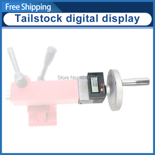 Tailstock DRO SIEG C2 C3 و SC2 سلسلة مخرطة tailstock تغذية شاشة ديجيتال S/N:10322