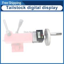 Tailstock dro sieg c3 e sc2 série torno tailstock feed display digital s/n: 10322