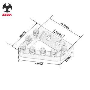 Image 2 - Plaque de butée de levier de frein arrière, pour KTM 125, 250, 350 et 450, SX SXF, EXC, EXCF, XC, XCF, XCW, Husqvarna TE, FE et TC FC