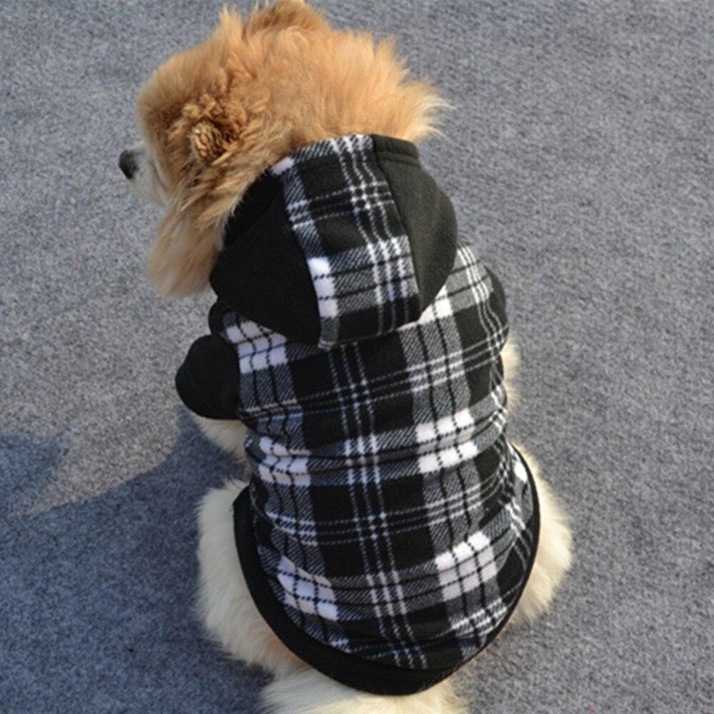 Warm Hund Kleidung Für Kleine Hunde Weiche Fleece Haustiere Kleidung Mops Kostüm Hoodies 14530